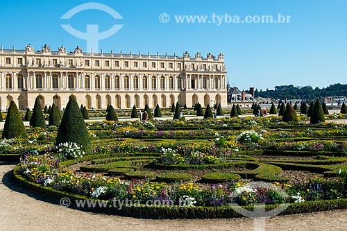 Jardim no Château de Versailles (Palácio de Versalhes) - residência oficial da monarquia da Francesa entre os anos de 1682 a 1789  - Versalhes - Yvelines - França