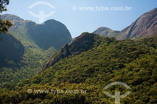 Vista do Morro do Alicate durante a trilha do Morro do Açu  - Petrópolis - Rio de Janeiro (RJ) - Brasil