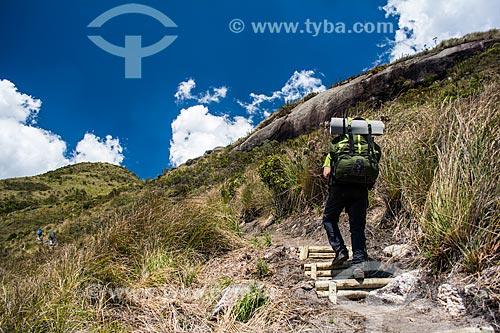 Trilha do Morro do Açu no Parque Nacional da Serra dos Órgãos  - Petrópolis - Rio de Janeiro (RJ) - Brasil