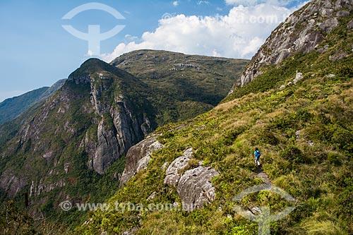 Trilha do Morro do Marco no Parque Nacional da Serra dos Órgãos  - Petrópolis - Rio de Janeiro (RJ) - Brasil