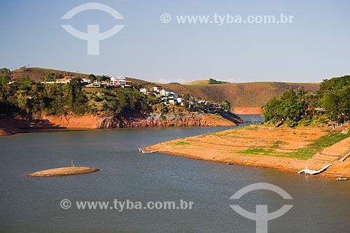 Margens da Represa Jaguari durante a crise de abastecimento no Sistema Cantareira  - Igaratá - São Paulo (SP) - Brasil