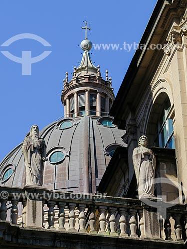 Detalhe da cúpula da Catedral Metropolitana de Porto Alegre (1929)  - Porto Alegre - Rio Grande do Sul (RS) - Brasil