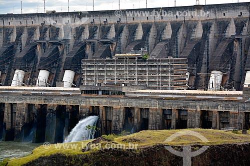Tubos para os geradores da Usina Hidrelétrica Itaipu Binacional  - Foz do Iguaçu - Paraná (PR) - Brasil