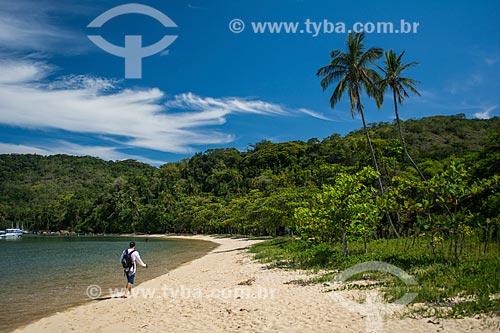 Orla da Praia dos Mangues  - Angra dos Reis - Rio de Janeiro (RJ) - Brasil