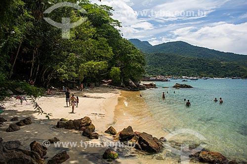 Banhistas na Praia da Bica  - Angra dos Reis - Rio de Janeiro (RJ) - Brasil