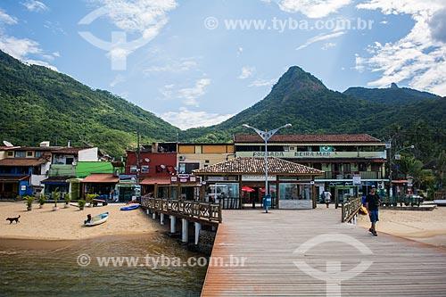 Píer da Praia do Abraão  - Angra dos Reis - Rio de Janeiro (RJ) - Brasil