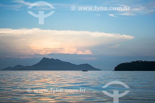 Pôr do sol na Lagoa Azul  - Angra dos Reis - Rio de Janeiro (RJ) - Brasil
