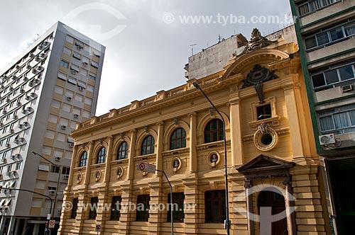 Fachada da Biblioteca Pública do Estado do Rio Grande do Sul (1915)  - Porto Alegre - Rio Grande do Sul (RS) - Brasil