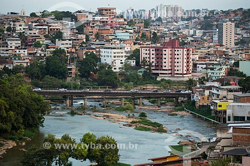 Ponte sobre o Rio Itapemirim  - Cachoeiro de Itapemirim - Espírito Santo (ES) - Brasil