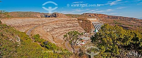 Vista do mirante da Represa de Furnas  - São José da Barra - Minas Gerais (MG) - Brasil