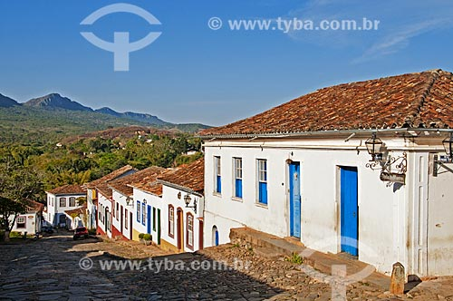Casarios da Rua da Câmara  - Tiradentes - Minas Gerais (MG) - Brasil