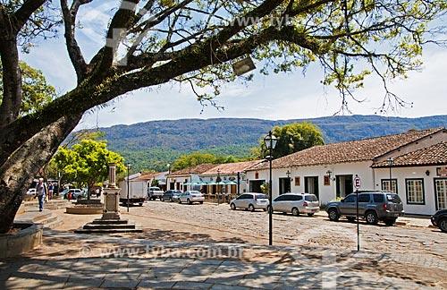 Praça Largo das Forras  - Tiradentes - Minas Gerais (MG) - Brasil