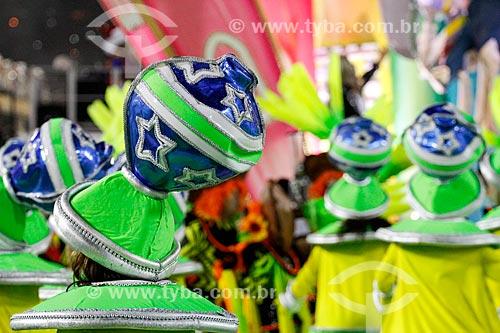 Desfile do Grêmio Recreativo Escola de Samba União da Ilha do Governador - Folião - Enredo 2014 - É brinquedo, é brincadeira. A Ilha vai levantar poeira!  - Rio de Janeiro - Rio de Janeiro (RJ) - Brasil