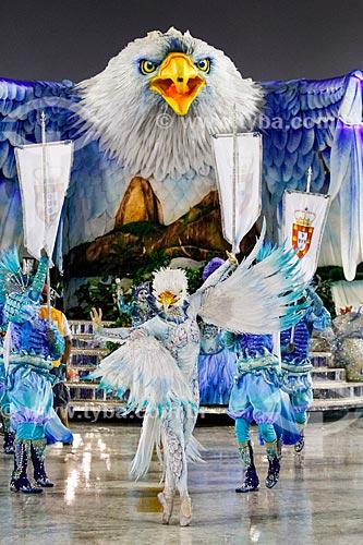 Desfile do Grêmio Recreativo Escola de Samba Portela - Comissão de frente - Enredo 2014 - Rio, de mar a mar. Do Valongo à glória de São Sebastião  - Rio de Janeiro - Rio de Janeiro (RJ) - Brasil