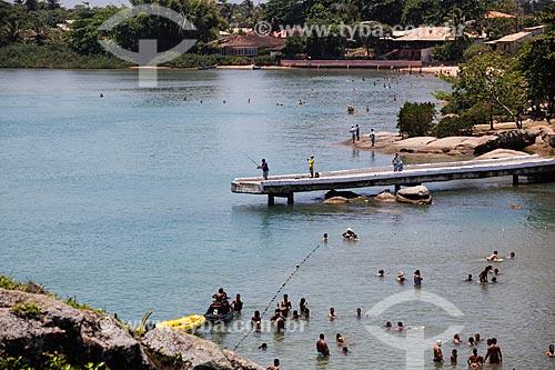 Banhistas na Prainha  - Casimiro de Abreu - Rio de Janeiro (RJ) - Brasil