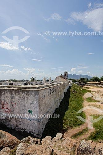 Muro do cemitério da Capela de São João Batista (1619)  - Casimiro de Abreu - Rio de Janeiro (RJ) - Brasil