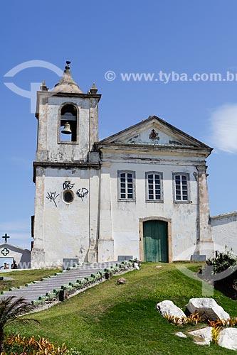 Fachada da Capela de São João Batista (1619)  - Casimiro de Abreu - Rio de Janeiro (RJ) - Brasil