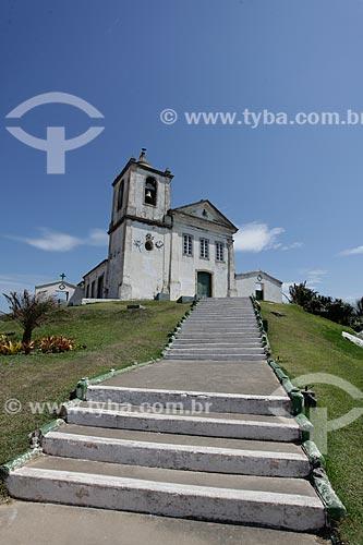 Escadaria da Capela de São João Batista (1619)  - Casimiro de Abreu - Rio de Janeiro (RJ) - Brasil