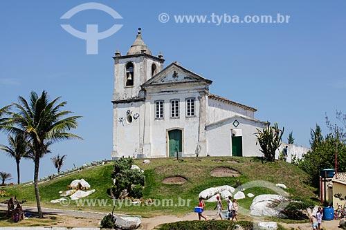 Vista geral da Capela de São João Batista (1619)  - Casimiro de Abreu - Rio de Janeiro (RJ) - Brasil