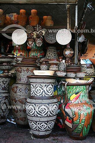 Vasos à venda no Mercado Ver-o-peso  - Belém - Pará (PA) - Brasil