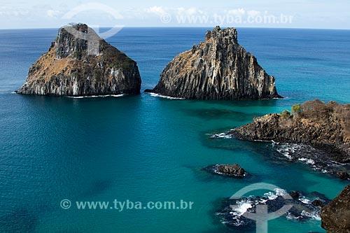 Vista do Morro Dois Irmãos  - Fernando de Noronha - Pernambuco (PE) - Brasil