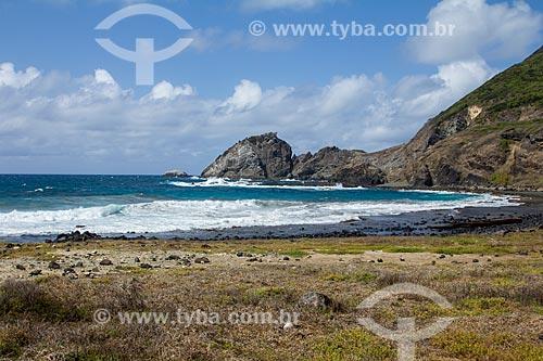 Vista da orla da Praia da Atalaia  - Fernando de Noronha - Pernambuco (PE) - Brasil