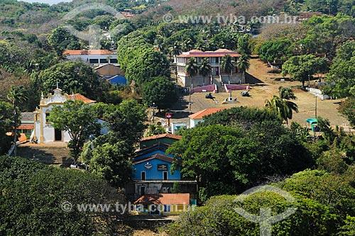 Vista geral da Vila dos Remédios  - Fernando de Noronha - Pernambuco (PE) - Brasil