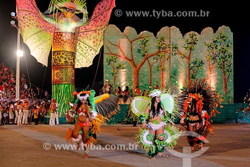 Desfile do festival de folclore de Guajará-Mirim  - Guajará-Mirim - Rondônia (RO) - Brasil