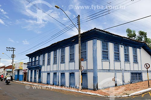 Fachada do Museu Histórico de Jataí Francisco Honório de Campos  - Jataí - Goiás (GO) - Brasil