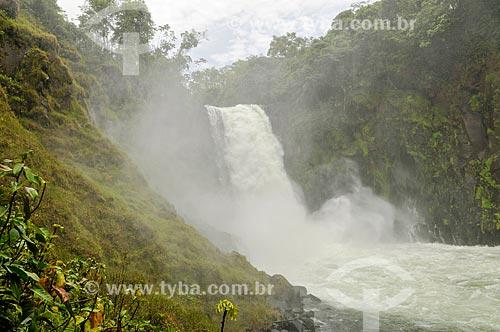 Salto II do Rio Corrente  - Serranópolis - Goiás (GO) - Brasil