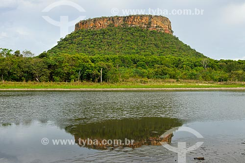 Vista do Morro da Mesa  - Serranópolis - Goiás (GO) - Brasil
