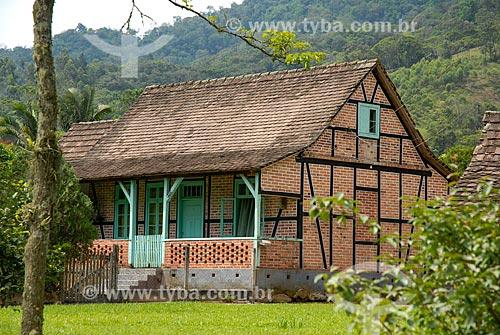 Casa em arquitetura alemã  - Pomerode - Santa Catarina (SC) - Brasil