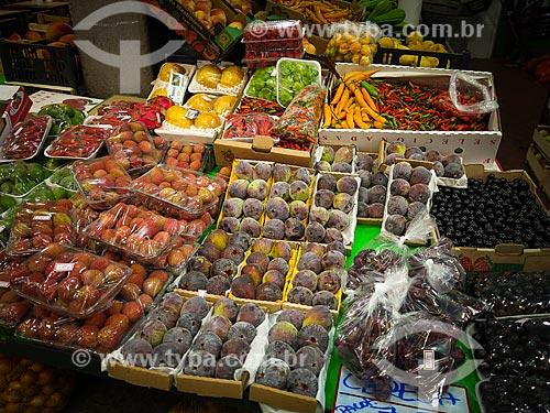Frutas à venda no Centro de Abastecimento do Estado da Guanabara (CADEG)  - Rio de Janeiro - Rio de Janeiro (RJ) - Brasil