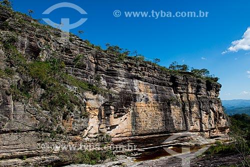 Paredão de Santo Antônio no Parque Estadual do Ibitipoca  - Lima Duarte - Minas Gerais (MG) - Brasil