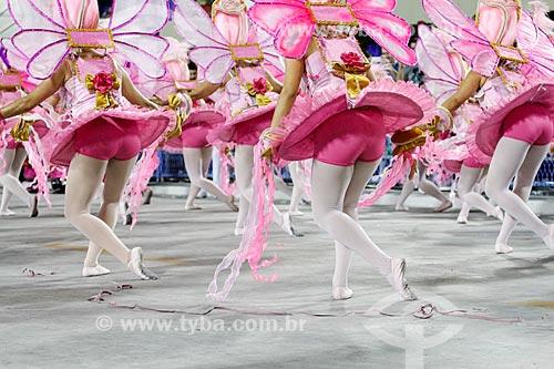 Desfile do Grêmio Recreativo Escola de Samba Unidos do Viradouro - Foliões - Enredo 2014 - Sou a Terra de Ismael, Guanabaran eu vou Cruzar... Pra Você Tiro o Chapéu, Rio eu vim te Abraçar  - Rio de Janeiro - Rio de Janeiro (RJ) - Brasil