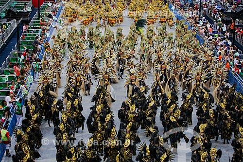 Desfile do Grêmio Recreativo Escola de Samba Acadêmicos do Cubango - Foliões - Enredo 2014 - Continente negro: uma epopéia africana  - Rio de Janeiro - Rio de Janeiro (RJ) - Brasil