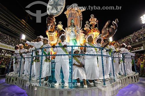 Desfile do Grêmio Recreativo Escola de Samba Estação Primeira de Mangueira - Velha Guarda - Enredo 2014 - A festança brasileira cai no samba da Mangueira  - Rio de Janeiro - Rio de Janeiro (RJ) - Brasil