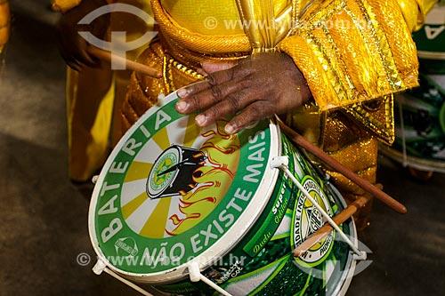 Desfile do Grêmio Recreativo Escola de Samba Mocidade Independente de Padre Miguel - Bateria - Enredo 2014 - Pernambucópolis  - Rio de Janeiro - Rio de Janeiro (RJ) - Brasil