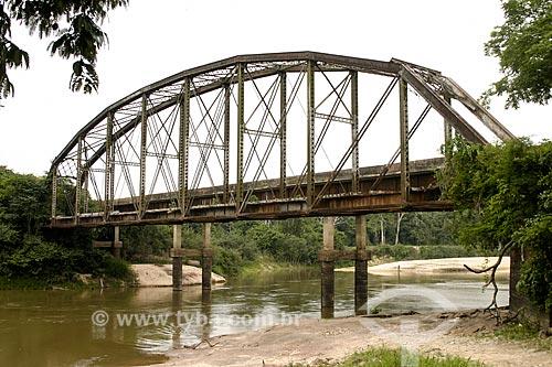 Ponte de Ferro da antiga Estrada de Ferro Madeira-Mamoré  - Porto Velho - Rondônia (RO) - Brasil