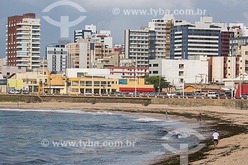 Vista da orla da Praia da Pituba  - Salvador - Bahia (BA) - Brasil