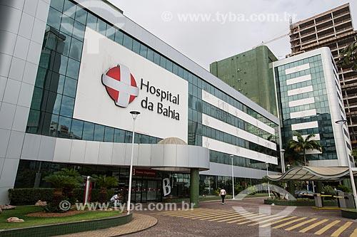 Fachada do Hospital da Bahia  - Salvador - Bahia (BA) - Brasil