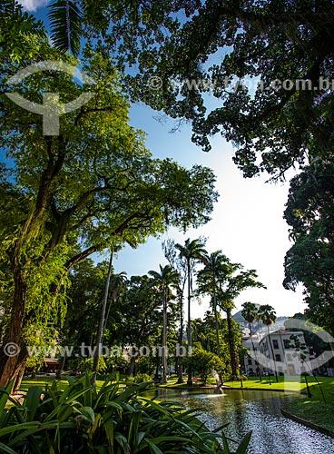 Jardim do Museu da República - antigo Palácio do Catete  - Rio de Janeiro - Rio de Janeiro (RJ) - Brasil