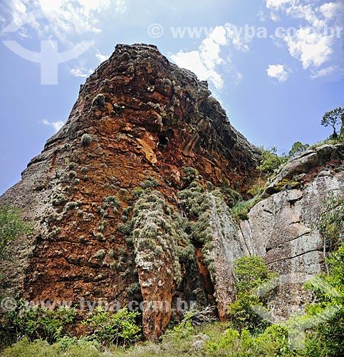 Formação de arenito do Parque Estadual de Vila Velha  - Ponta Grossa - Paraná (PR) - Brasil
