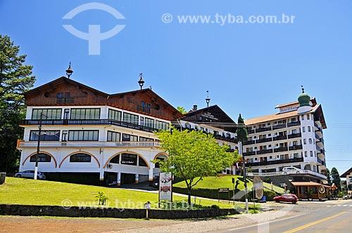 Fachada do Hotel 13 Linden  - Treze Tílias - Santa Catarina (SC) - Brasil