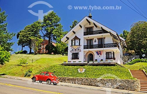 Consulado da Áustria na cidade de Treze Tílias  - Treze Tílias - Santa Catarina (SC) - Brasil