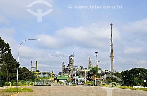 Unidade de Industrialização do Xisto (SIX) da PETROBRAS  - São Mateus do Sul - Paraná (PR) - Brasil