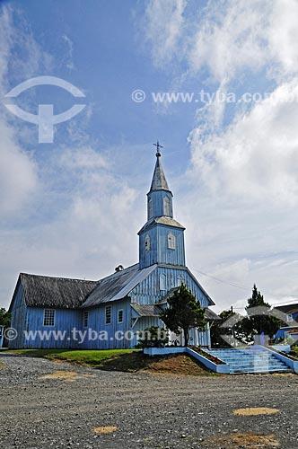 Fachada da Igreja São José de Água Branca - Igreja Católica Nacional Polonesa  - São Mateus do Sul - Paraná (PR) - Brasil
