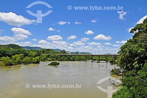 Ponte sobre o Rio Itajai-Açu  - Indaial - Santa Catarina (SC) - Brasil
