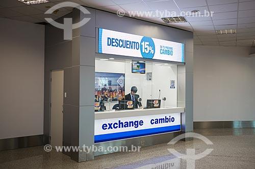 Casa de câmbio no Aeroporto Internacional Juscelino Kubitschek  - Brasília - Distrito Federal (DF) - Brasil