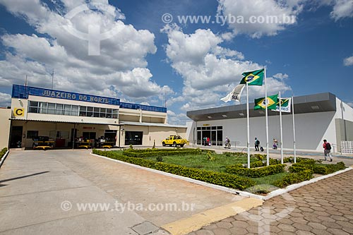 Fachada do Aeroporto de Juazeiro do Norte - Orlando Bezerra de Menezes (1954)  - Juazeiro do Norte - Ceará (CE) - Brasil